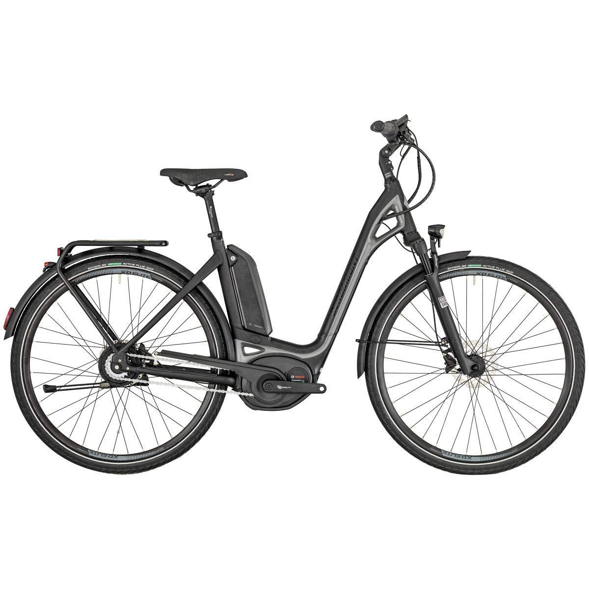 Bergamont E-Ville Pro Pedelec Elektro Trekking Fahrrad schwarz//grau 2019