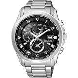 Citizen Analog Black Dial Unisex Watch - AT9080-57E