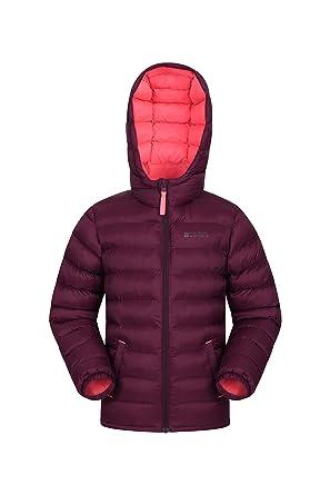 e850810274c Mountain Warehouse Seasons Boys Padded Jacket - Water Resistant Rain Coat,  Lightweight Kids Winter Jacket