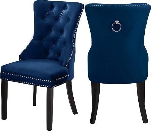Meridian Furniture 740Navy-C Nikki Collection Modern
