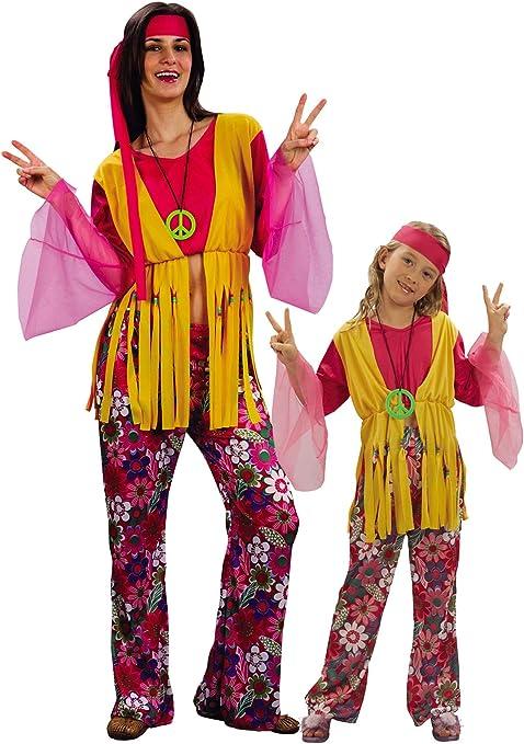 Generique - Disfraz de Pareja Hippies Talla única: Amazon.es ...