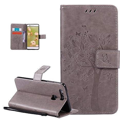 Carcasa con tapa Huawei P9, Huawei P9, ikasus® - Carcasa ...