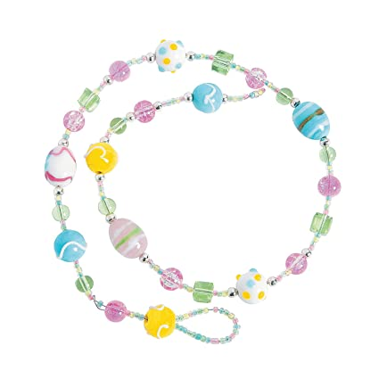 Amazon Com Fun Express Easter Egg Bracelet Ck For Easter Craft