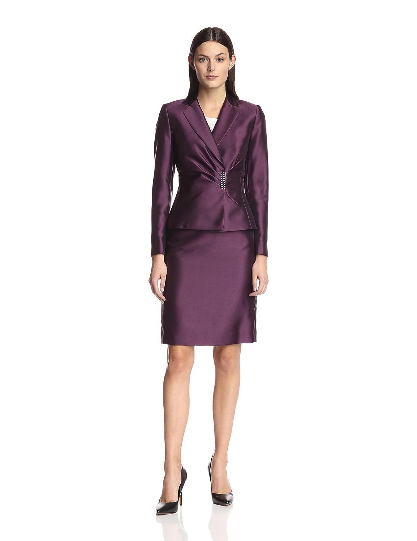 Purple Skirt Suits
