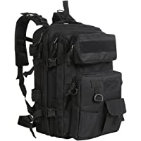 G4Free 40L Tactical Assault Backpack Water Resistant Army Molle Backpack Military Rucksack with Detachable Pouch for Outdoor Hiking Camping Trekking Hunting