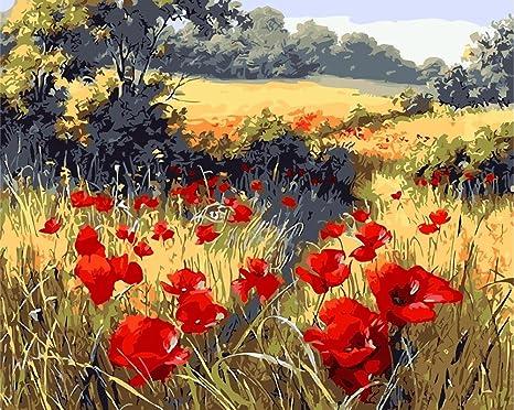 qiulv Mandorlo in Fiore moderni Flora Canvas Prints famosi dipinti ...