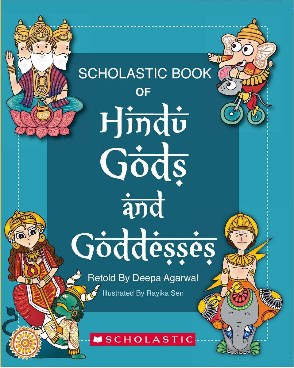 Buy Scholastic Book of Hindu Gods and Goddesses Book Online at Low