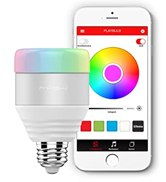 Playbulb Smart   LED Glühbirne Mit Farbwechsel, App Steuerung Und  Gruppenfunktion (weiß
