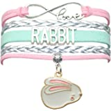 Rabbit Bunny Bracelet Jewelry - Infinity Love Rabbit Gifts Bunny Rabbit Jewelry Bracelet Gift For Women, Girls, Men, Boys, Ra