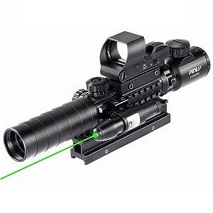 Pinty Rifle Scope 3-9×32 Rangefinder