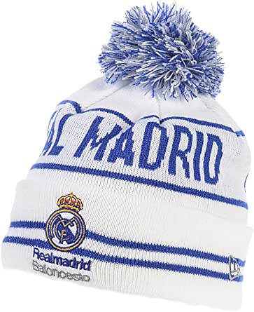 A NEW ERA Gorro Lana Real Madrid Original Modelo Jake: Amazon.es ...