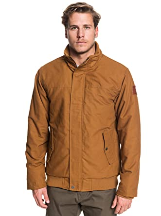 Quiksilver Brooks Full Zip-Chaqueta Impermeable para Hombre
