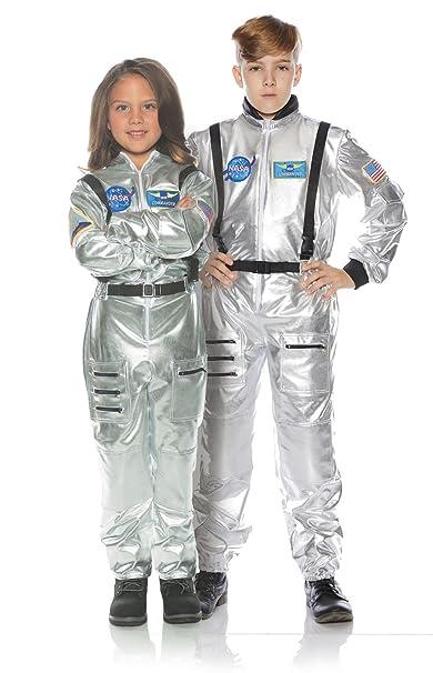 3fd8b932c508 Amazon.com  Child NASA Space Astronaut Silver Orbit Occupational Jumpsuit  Halloween Costume  Office Products