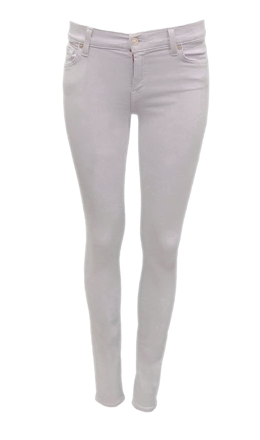7 FOR ALL MANKIND Womens Skinny Colored Jeans Lilac 160665TAG
