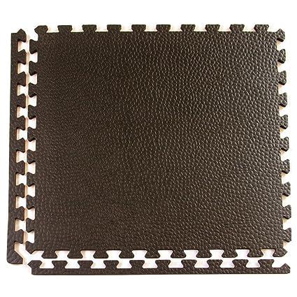 Greatmats Pebble Top Interlocking Foam Gym Floor Tile Case Of 15