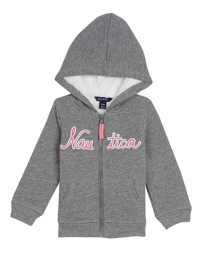 Nautica Girls Super Soft Fleece Hoody