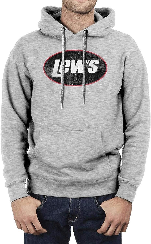 KyBrat Men Sweatshirt Casual Lightweight Hoodie with Pocket for Leisure Time Activities