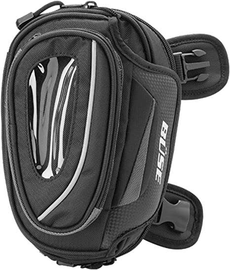 Büse Oberschenkeltasche Beintasche Motorradtasche In Schwarz