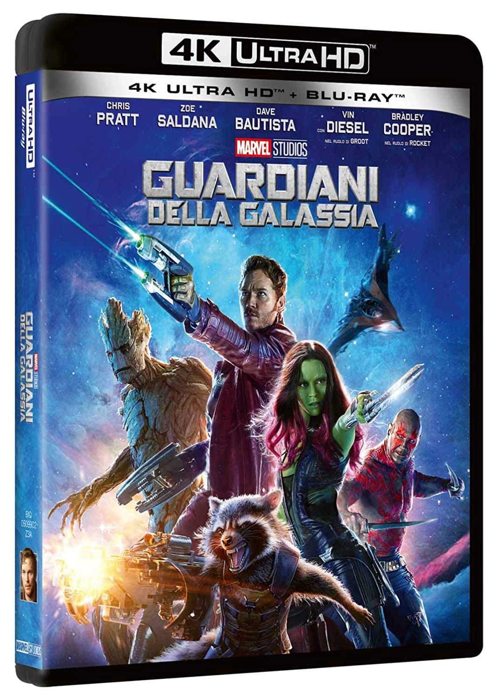Guardiani Della Galassia Blu-Ray 4K Ultra HD+Blu-Ray Italia Blu-ray: Amazon.es: Dave Bautista, Glenn Close, Benicio Del Toro, Djimon Hounsou, Chris Pratt, Zoe Saldana, James Gunn: Cine y Series TV