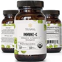 Truvani Vitamin C | USDA Organic | High Absorption, Antioxidant Supplement, Higher...