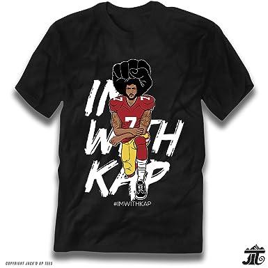 57e6a20b41ef0f Amazon.com   ImWithKap Kap Kneeling Premium T-Shirt  Clothing