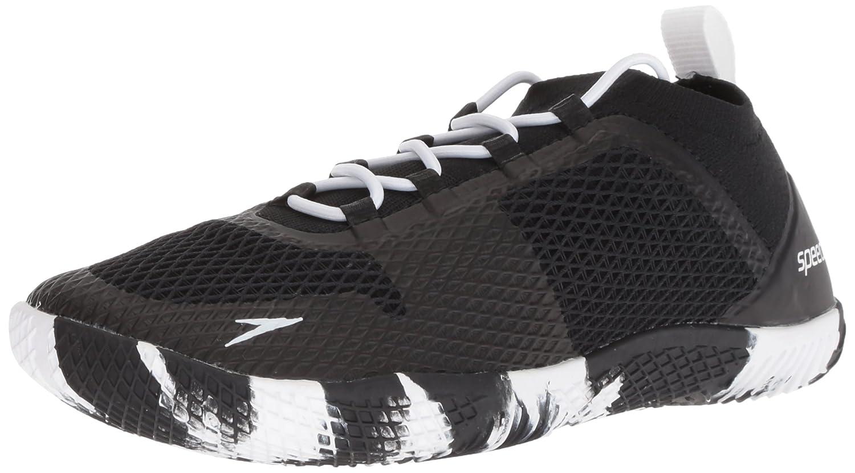 Speedo Women's Fathom Aq Fitness Water Shoe B0766468MK 8.5 C/D US|Black/White