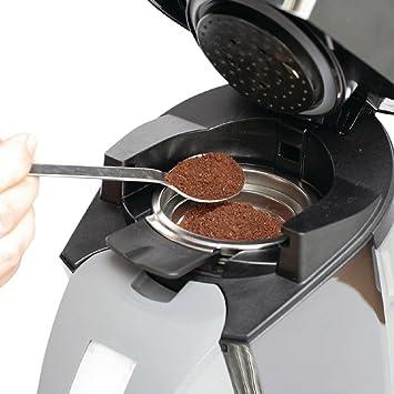 Permanente kaffepad wiederbe rellenable para Philips Senseo Máquinas de monodosis para cafeteras HD7810 HD7811 HD7812 Adecuado