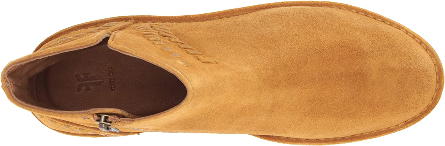 Frye Womens Sierra Whipstitch Bootie Ankle Boot