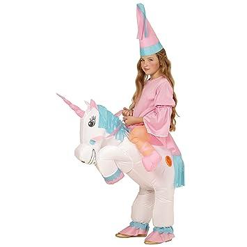 WIDMANN 75502 infantil Disfraz Unicornio, One size