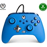 PowerA Enhanced Wired Controller for Xbox - Blue, Gamepad, Wired Video Game Controller, Gaming Controller, Xbox Series X|S, X