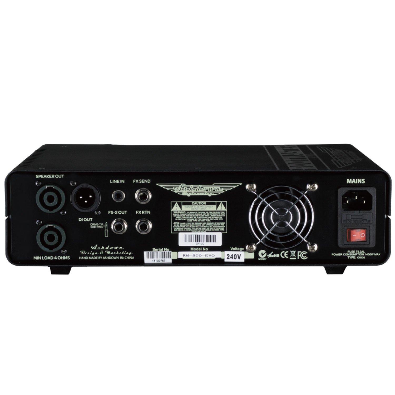 Ashdown rm-800-evo cabecero amplificador de bajo, 800 W: Amazon.es: Instrumentos musicales