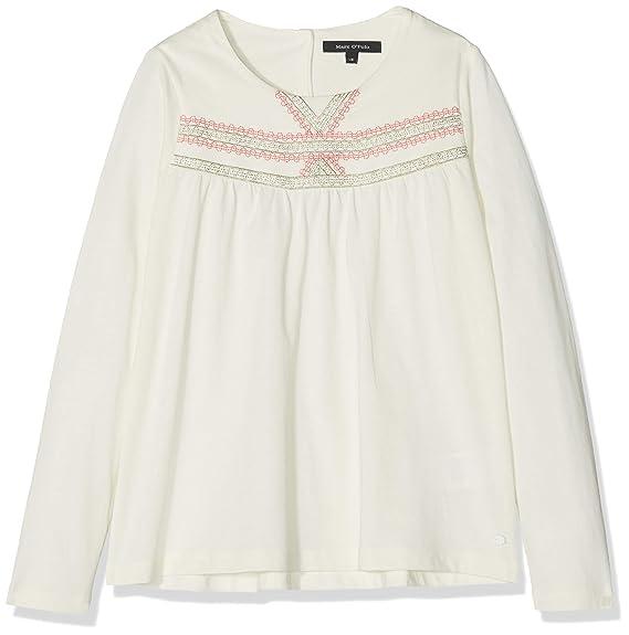 Marc O Polo Kids T-Shirt 1/1 Arm Camiseta, Blanco (Egret|White ...