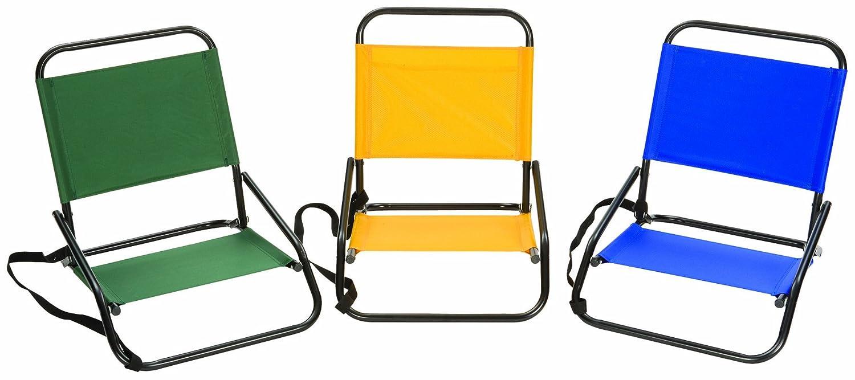 Amazon.com: Stansport Sandpiper silla de arena, Single Unit ...
