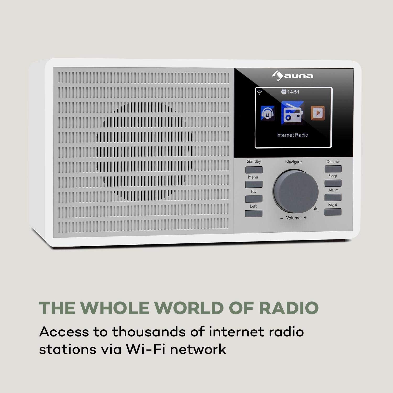 Auna Ir 160 Internet Radio With Wifi Mp3 Elektronik