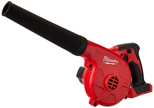 Milwaukee 0884-20 M18 18 V Litio Ion 100 CFM 160 MPH Inalámbrico Compacto Multipropósito Utility Blower