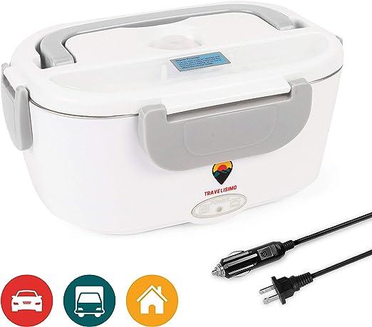 Amazon.com: Fiambrera eléctrica 2 en 1 para coche/camión y ...