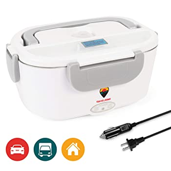 Travelisimo Electric Lunch Box 2 in 1 Food Steamer