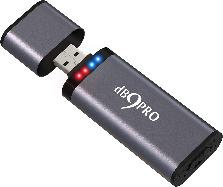 U-Disk Diktiergerät USB Audio Voice Recorder Aufnahmegerät Sprachaufnahme 32GB