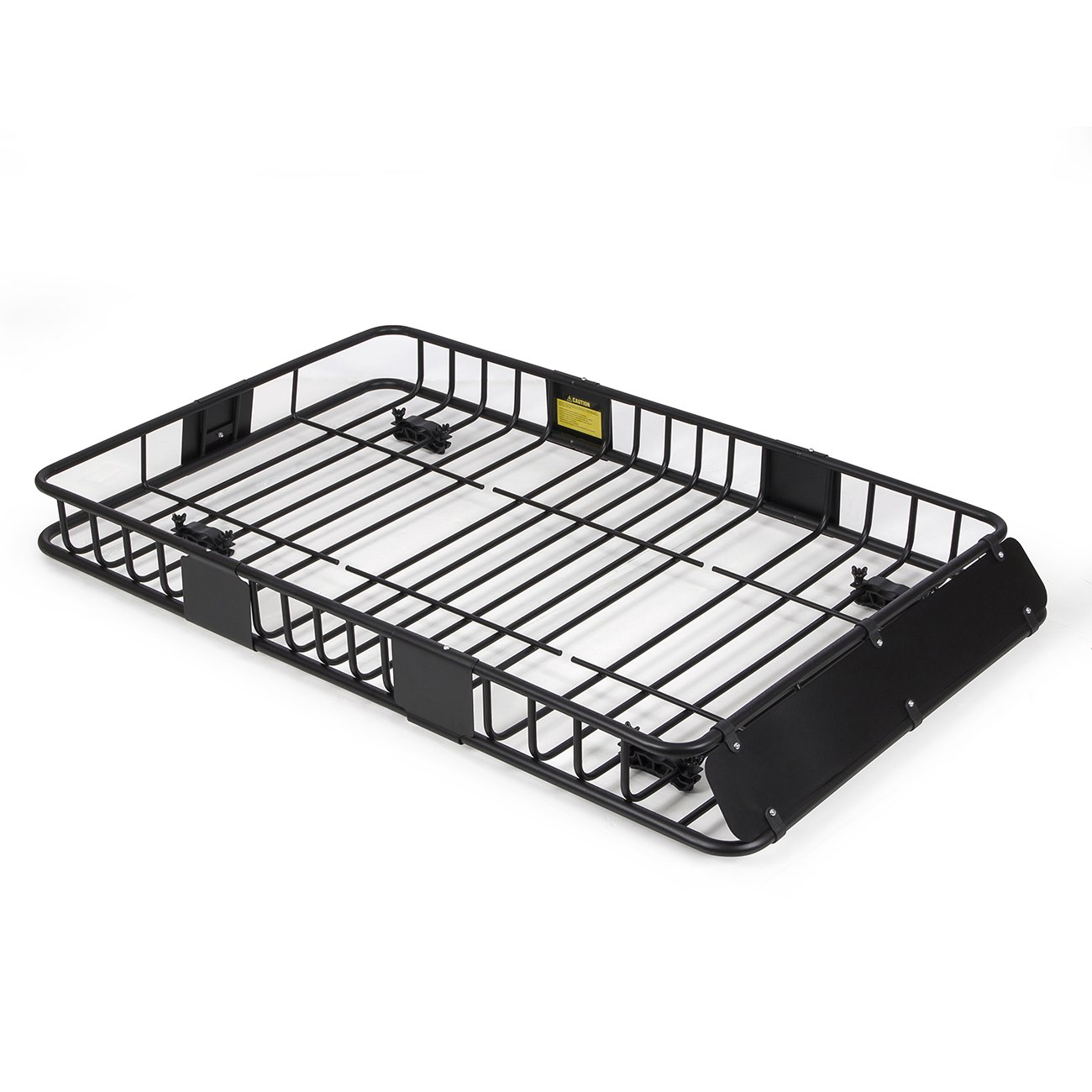 ARKSEN 64-Inch Black Roof Rack Cargo Carrier Basket}