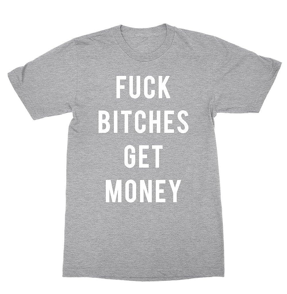 f9ed4b0ad544 Amazon.com: Fuck Bitches Get Money Shirt - Tumblr T-shirt Hip Hop Shirt:  Clothing