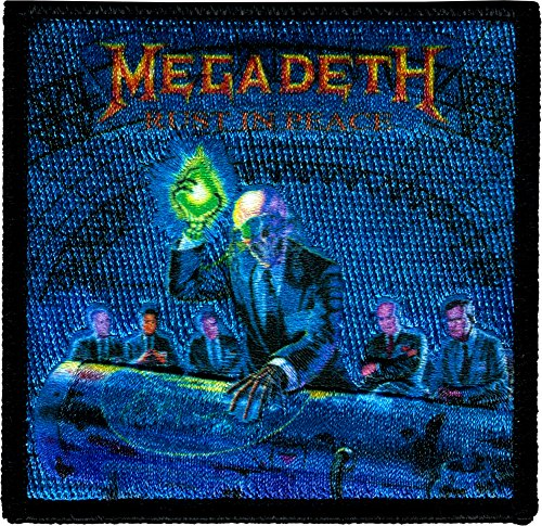 Rust in Peace Megadeth Iron Sew On Patch