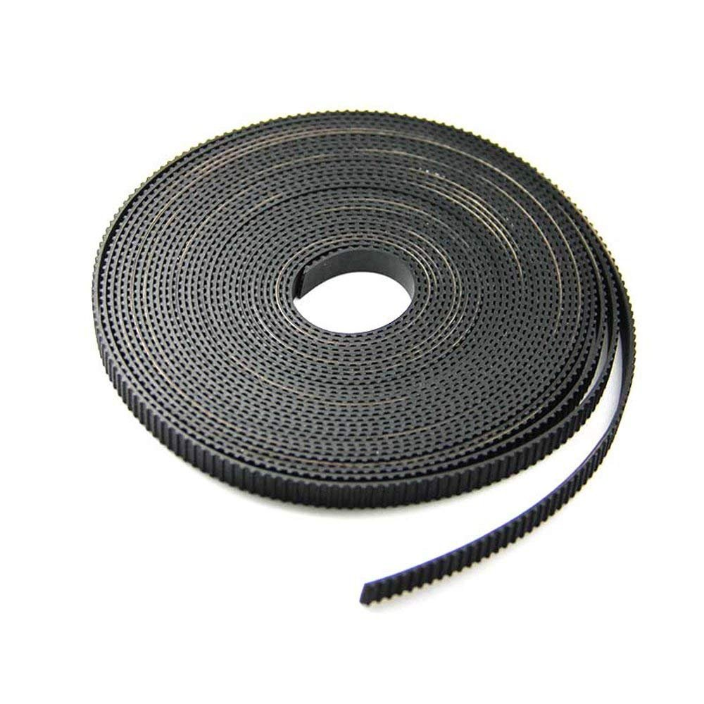 Samje 5 Meters GT2 2mm pitch 6mm wide Timing Belt for 3D printer CNC