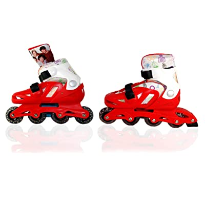One Direction Roller Skates, Inline Roller Skates, (Adjustable US: Size: 2-5.5) Official Licensed,(RRP: £60): Toys & Games