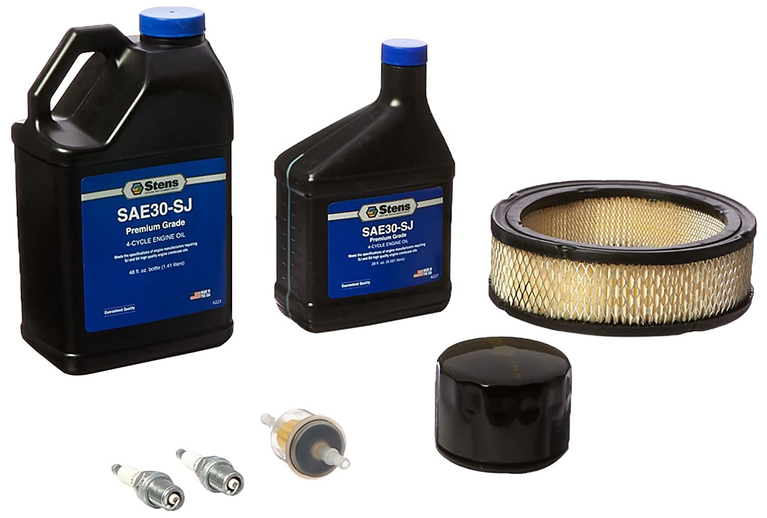 Stens 785 525 Engine Tune Up Maintenance Kit For Vanguard Fuel Filter Briggs Stratton 5119b V Twin 125 Hp Through 21 Lawn Mower Air Filters