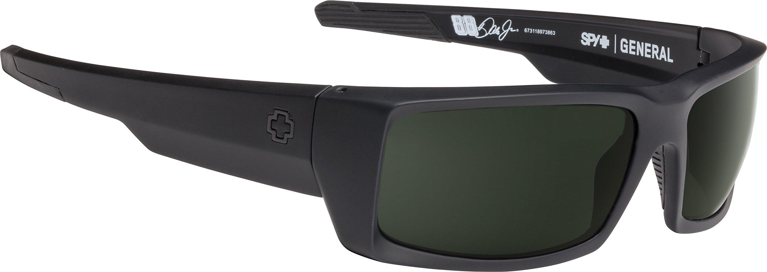 SPY Optic General | Wrap Sunglasses | ANSI RX