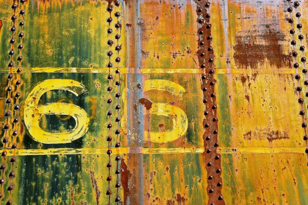 Amazon.com: Urban Art, Rusty Train Decor, 66, Manly Art, Home Decor ...