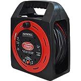 Faithfull Power Plus CR15MER 13A / 240V 15m 4-Socket Easy Reel Cable Reel