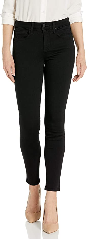 NYDJ Womens Alina Skinny Jeans in Sure Stretch Denim