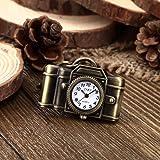 Amazon Price History for:Youyoupifa Retro Camera Bronze Alloy Vintage Keychain Quartz watches (Unisex)