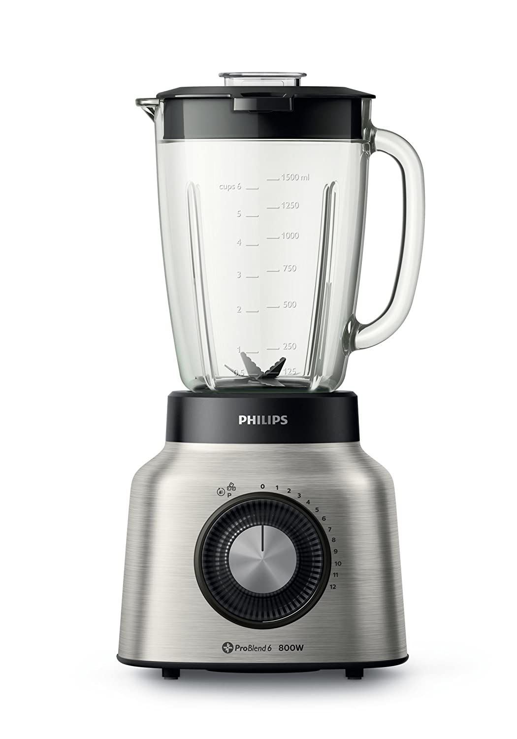 Philips Viva Collection HR2139/80 - Licuadora (2 L, Giratorio ...